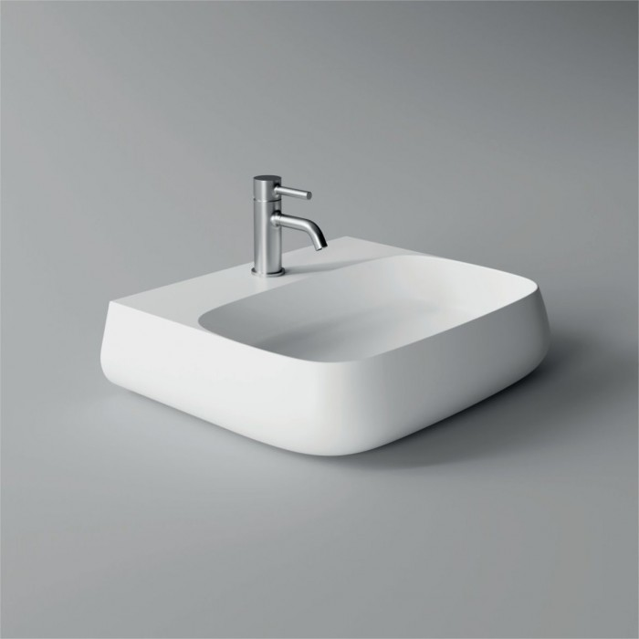 Lavabo, vasque Nur 55x45cm (16 couleurs) rectangle ref. 33180101