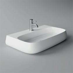 Lavabo, vasque Nur 75x45cm (16 couleurs) rectangle ref. 33170101
