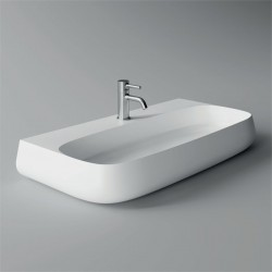 Lavabo, vasque Nur 90x45cm (16 couleurs) rectangle ref. 33160101