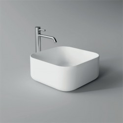 Lavabo, vasque Unica 37x37cm (16 couleurs) carré ref. 32170101