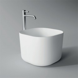 Lavabo, vasque Unica 40x40cm (16 couleurs) carré ref. 32140101