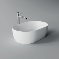 Lavabo, vasque Unica 55x35cm (16 couleurs) ovale ref. 32120101