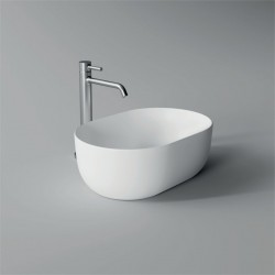 Lavabo, vasque Unica 45x31cm (16 couleurs) ovale ref. 32130101