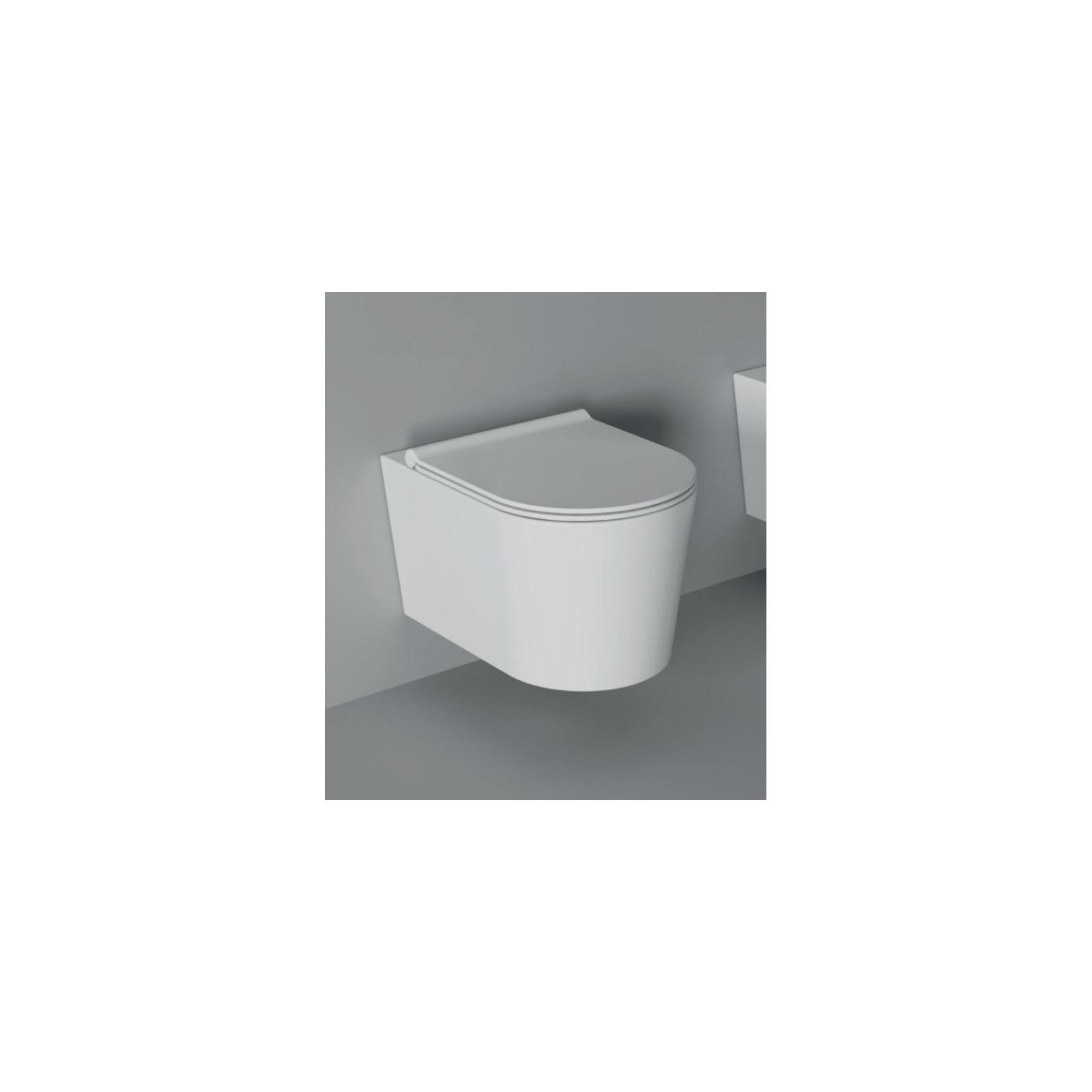 WC suspendu Form 50x35cm avec abattant (14 couleurs) ref. 22300101