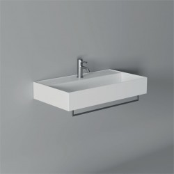Lavabo, vasque Hide 80x45cm (16 couleurs) rectangle ref. 31240101