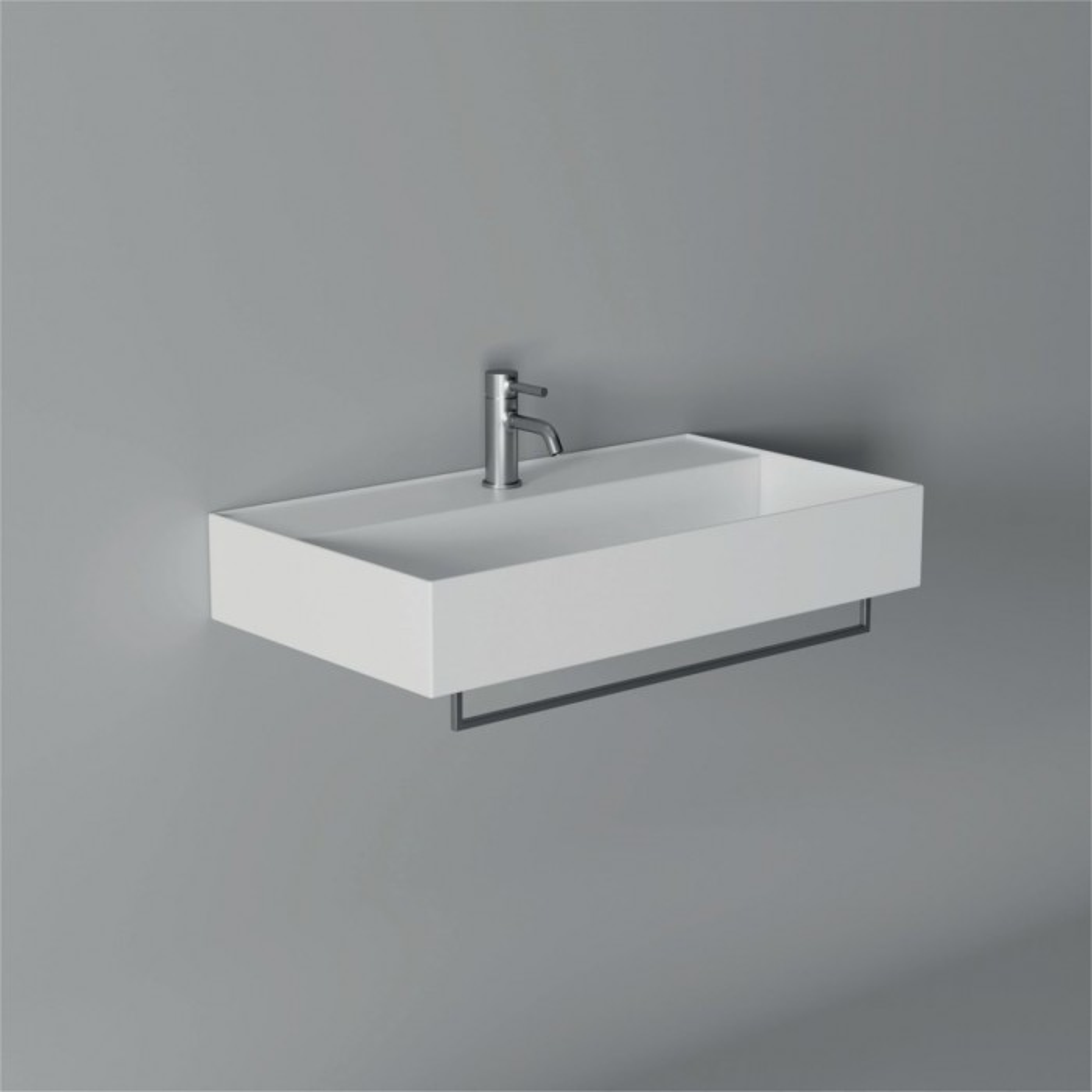 Lavabo, vasque Hide 80x45cm (16 couleurs) rectangle ref. 31240101