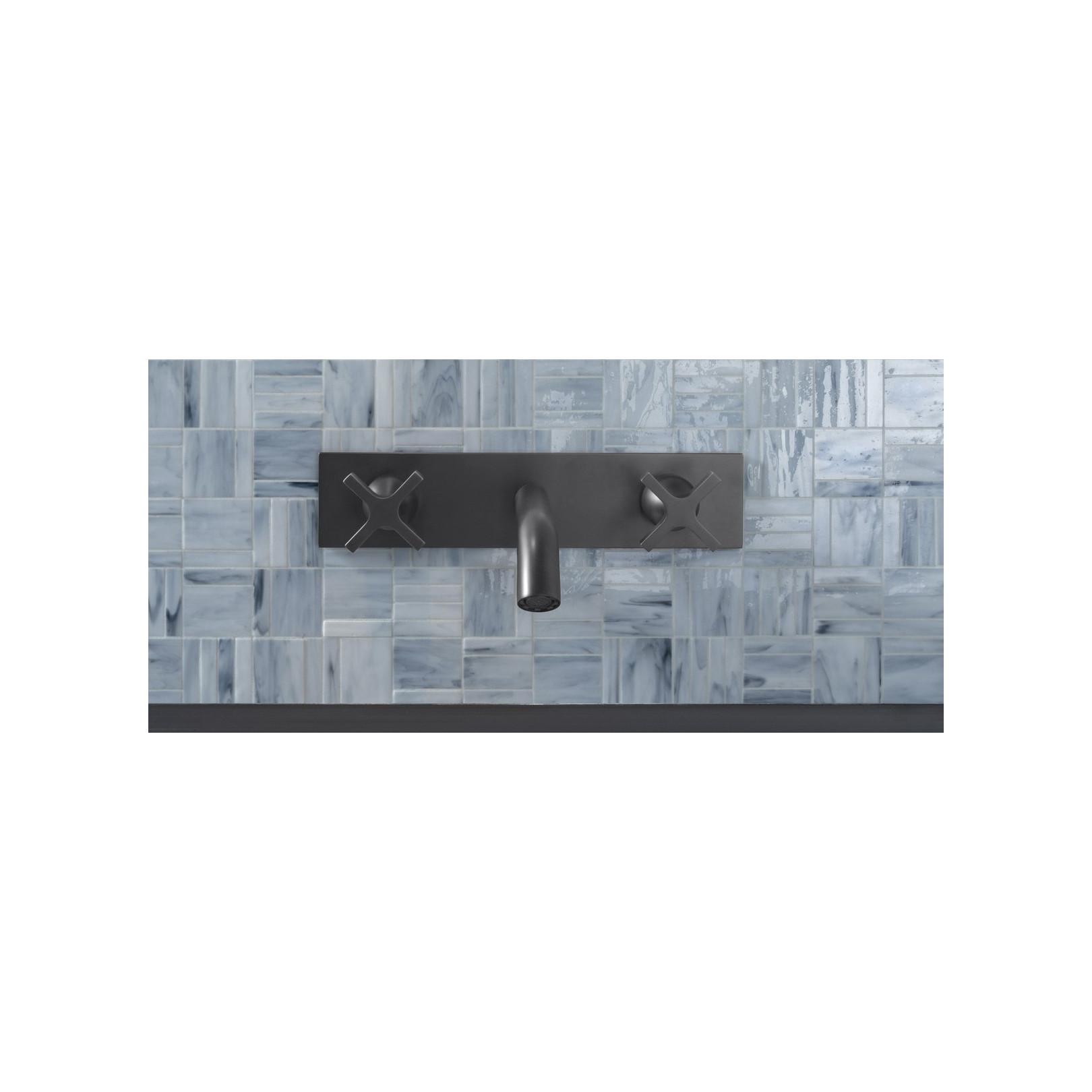 Mosaïque de verre Jointed Layout A sur trame nylon 30,8x30,8cm
