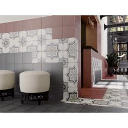 Carrelage grès cérame effet carreau ciment Art nouveau Capitol