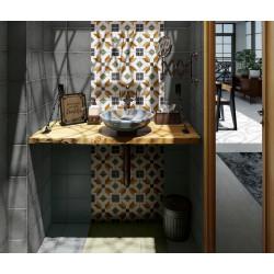 Carrelage grès cérame effet carreau ciment Art Nouveau Colour Empire