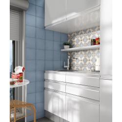 Carrelage grès cérame effet carreau ciment Art Nouveau Colour Turin 20x20cm