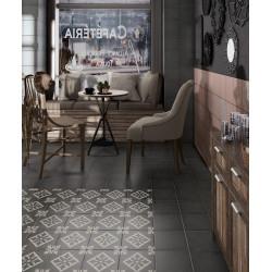 Carrelage grès cérame effet carreau ciment Art Nouveau Colour Padua Pink 20x20cm