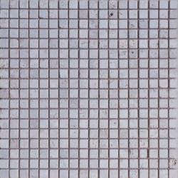 Mosaïque travertin Classique, 1,5x1,5cm sur trame 29,6x29,6cm