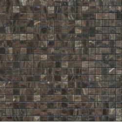 Mosaïque marbre Sable Brown, 1,5x1,5cm sur trame 29,6x29,6cm