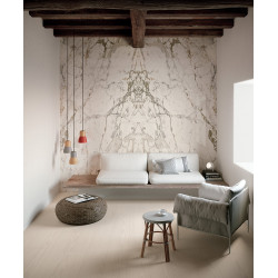 Carrelage grès cérame effet marbre Infinito 2.0 Capraia 320x160 (2 finitions)