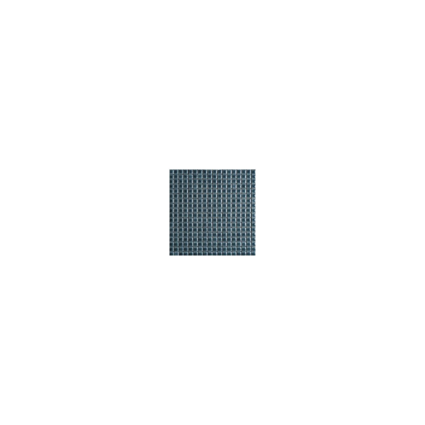 Mosaïque lave émaillée Bardigio, 1,5x1,5cm sur trame 29,6x29,6cm