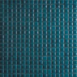 Mosaïque lave émaillée Green, 1,5x1,5cm sur trame 29,6x29,6cm