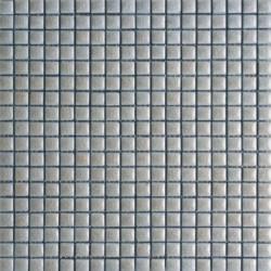 Mosaïque lave émaillée Tea, 1,5x1,5cm sur trame 29,6x29,6cm