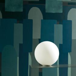 Carrelage grès cérame effet papier peint Scenari Blue Shapes