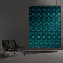 Carrelage grès cérame effet papier peint Scenari Glass Factory