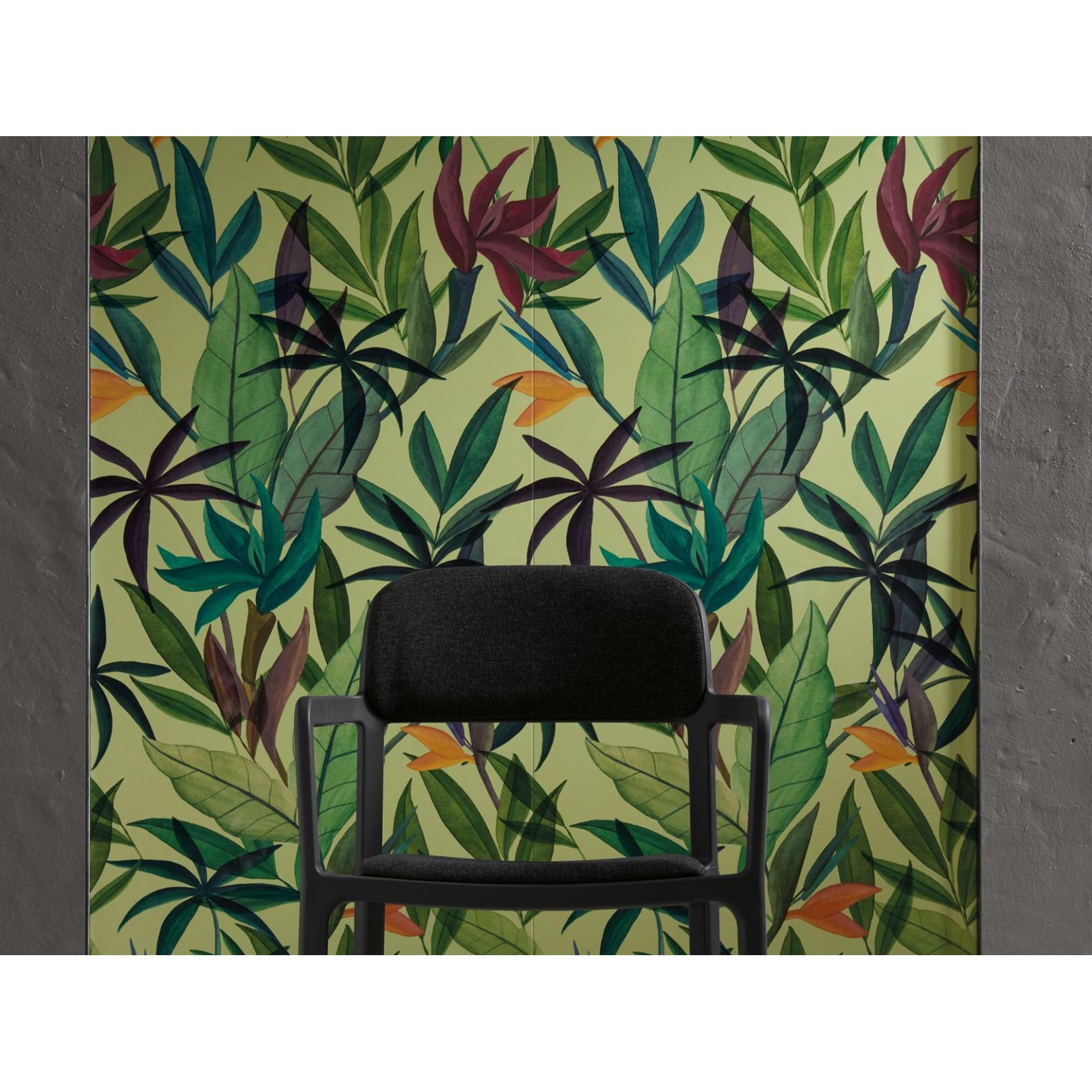 Carrelage grès cérame effet papier peint Scenari Leaf in Time