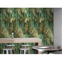 Carrelage grès cérame effet papier peint Tropical Paint