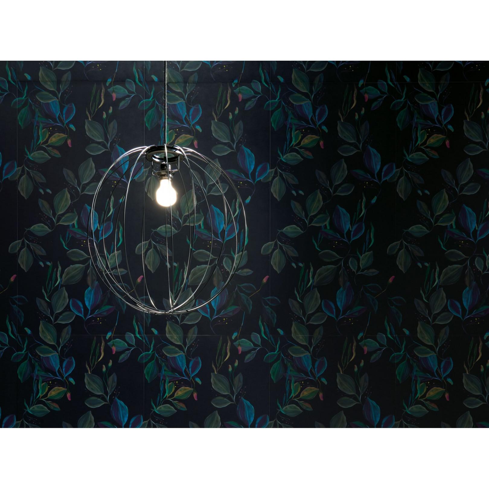Carrelage grès cérame effet papier peint Scenari Dark Moon