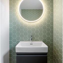 Carrelage grès cérame Hexagone uni Winckelmans (2 formats, 32 couleurs) épaisseur 0,9cm