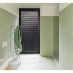 Carrelage grès cérame mosaïque Winckelmans carré (3 formats, 32 couleurs) épaisseur 0,9cm