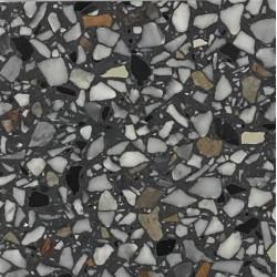 Carreau Terrazzo fond gris inclusions multicolores Bel 692 (3 formats)