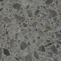 Carreau Terrazzo fond gris inclusions gris foncé Bel 1006 (3 formats)