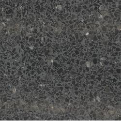 Carreau Terrazzo fond anthracite inclusions noir Bilak (3 formats)