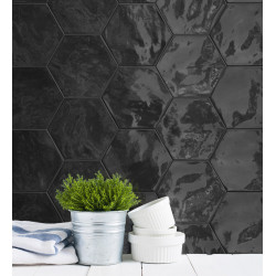 Faience Hexawall 17,3x15cm (5 couleurs)