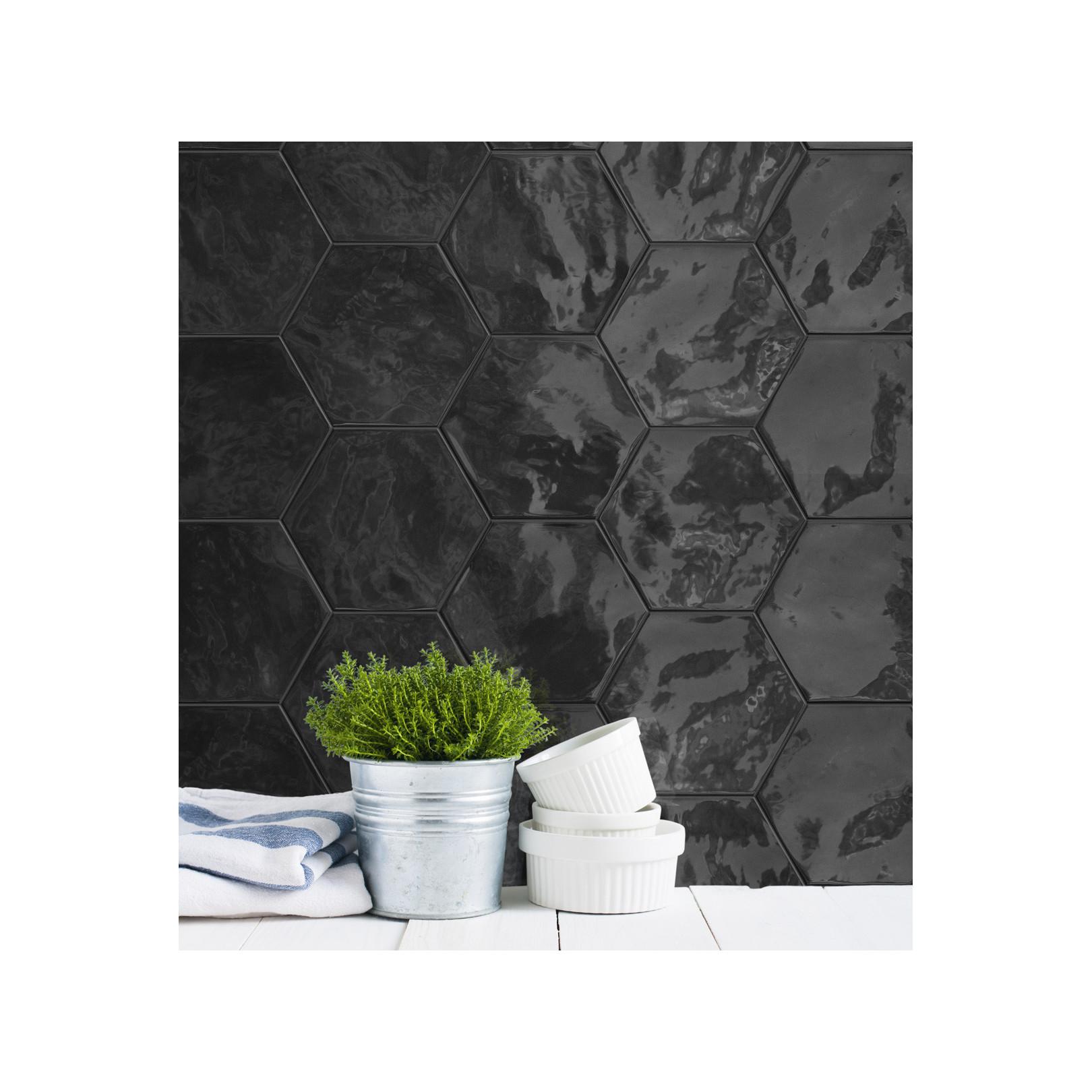Faience Hexawall 17,3x15cm (5 couleurs)