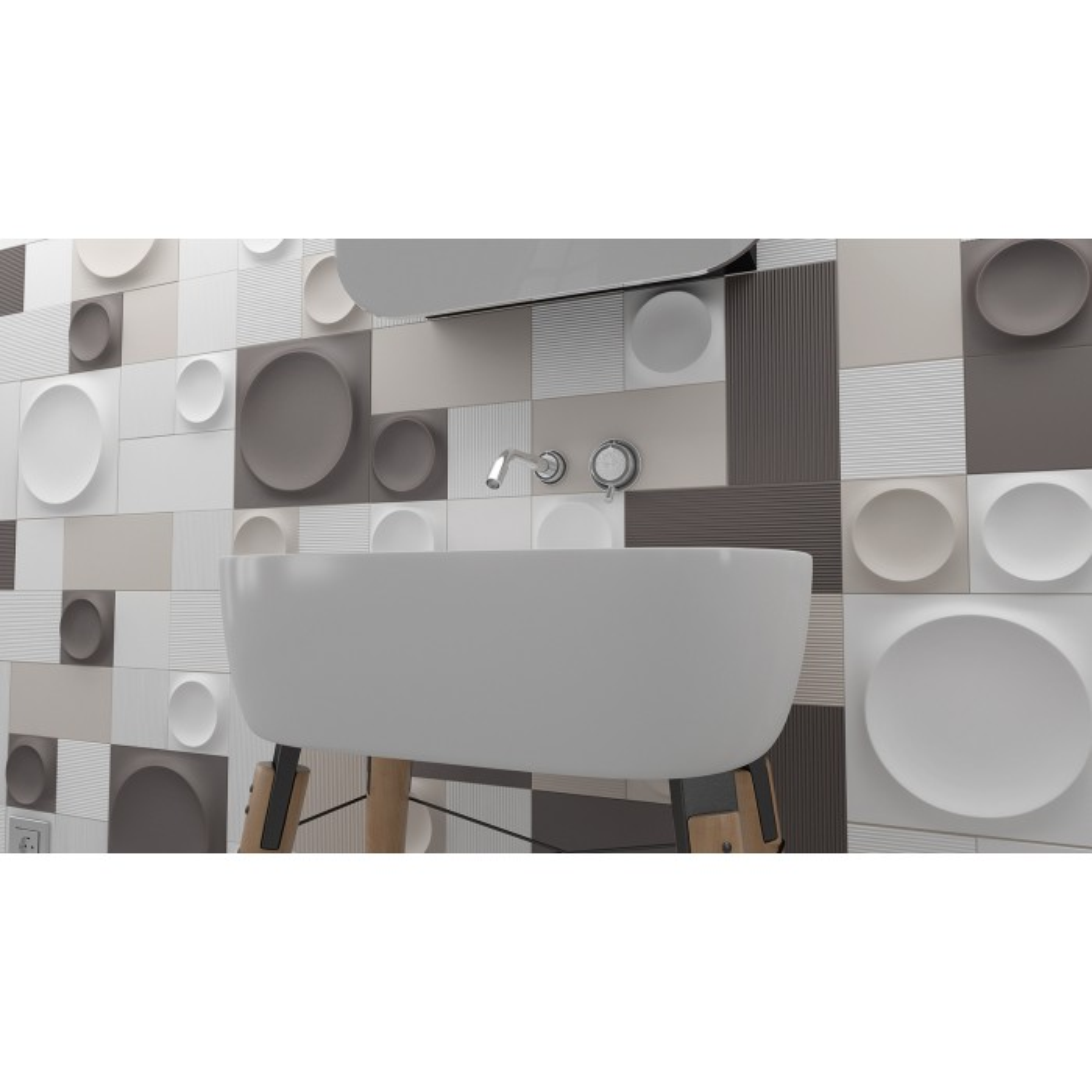 Faïence Liso 12,5x12,5cm (5 couleurs)
