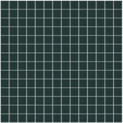 Mosaïque Unicolor 2,3x2,3cm bleu nuit 313 mat ou brillant ou antidérapant sur trame nylon 33,3x33,3cm