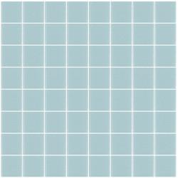 Mosaïque Unicolor carré 3,8x3,8cm gris 108 mat ou brillant ou antidérapant sur trame nylon 32x32cm