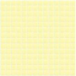 Mosaïque Unicolor 2,3x2,3cm vert foncé 220 mat ou brillant ou antidérapant sur trame nylon 33,3x33,3cm