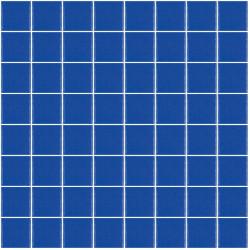 Mosaïque Unicolor carré 3,8x3,8cm vert jaune 301 mat ou brillant ou antidérapant sur trame nylon 32x32cm