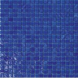 Mosaïque pâte de verre Concerto Denim 1,5x1,5cm C0.0916