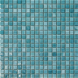 Mosaïque pâte de verre Concerto Écru 1,5x1,5cm C0.0927