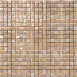 Mosaïque pâte de verre Perle Rosa Antico 1,5x1,5cm PE.OF79