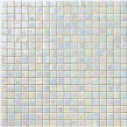 Mosaïque pâte de verre Perle Madreperla 1,5x1,5cm PE.0H54