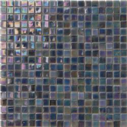 Mosaïque pâte de verre Perle Grigio 1,5x1,5cm PE.0H56