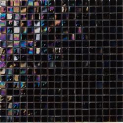 Mosaïque pâte de verre Perle Nero 1,5x1,5cm PE.0H58