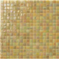 Mosaïque pâte de verre Perle Miele 1,5x1,5cm PE.0H62
