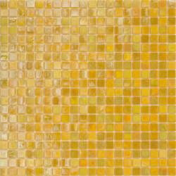 Mosaïque pâte de verre Perle Giallo 1,5x1,5cm PE.0H63