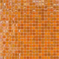Mosaïque pâte de verre Perle Arancio 1,5x1,5cm PE.0H64