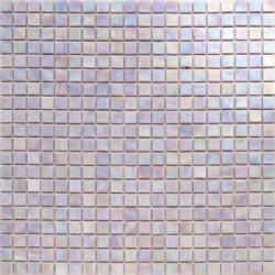 Mosaïque pâte de verre Perle Opale 1,5x1,5cm PE.0H65