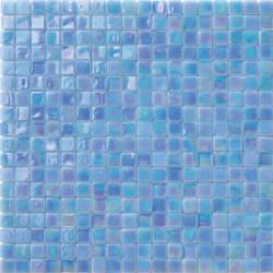 Mosaïque pâte de verre Perle Azzurro 1,5x1,5cm PE.0H69