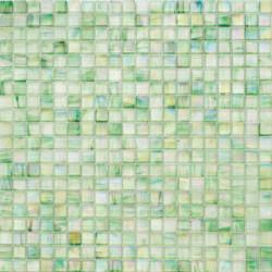Mosaïque pâte de verre Perle Turchese 1,5x1,5cm PE.0H74
